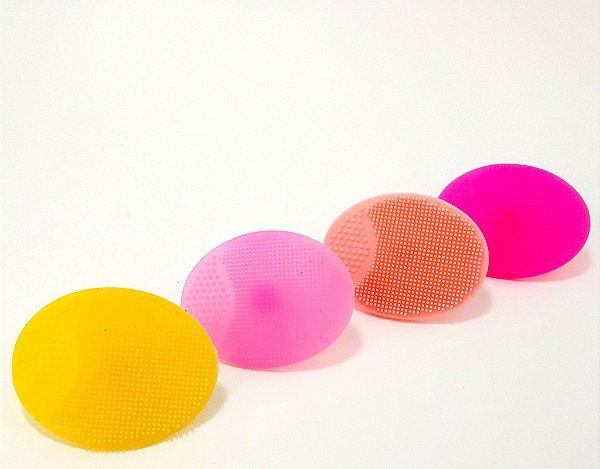Esponja De Silicone Para Limpeza Facial - Coloridas