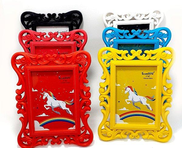 Porta Retrato de Plástico Colorido - Interponte