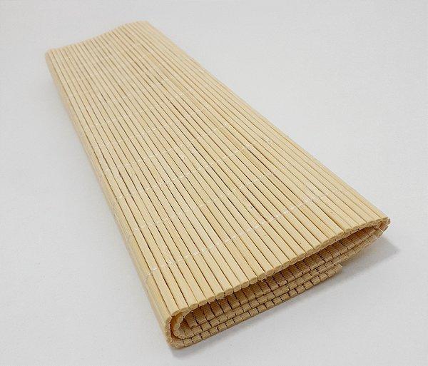 Porta Pratos De Bambu Claro