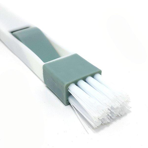 Escova De Limpeza Com Pá Multiuso Para Limpar Fresta/Teclados - Clink