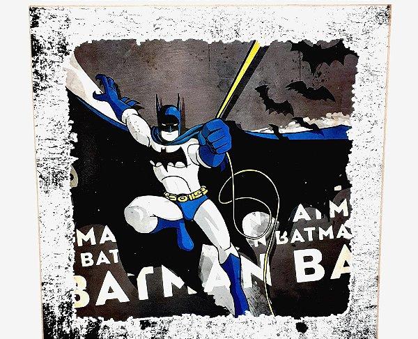 Quadro Decorativo Em MDF - Temático Batman