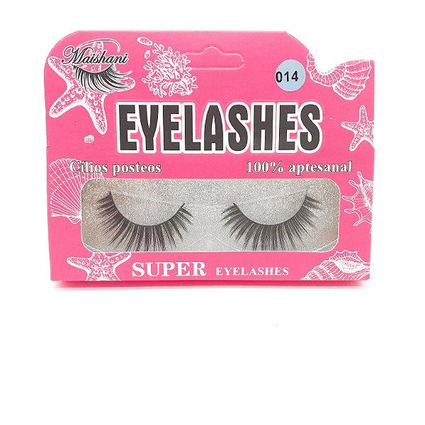 Cílios Postiços Eyelashes Nº014 - Maishani