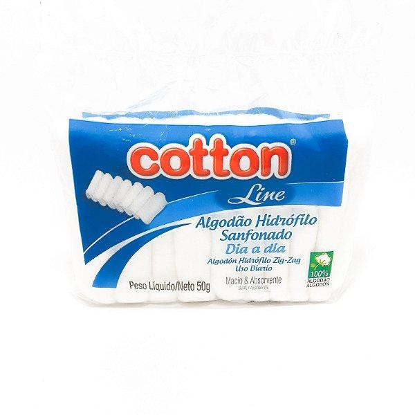 Pacote de Algodão Sanfonado 50g - Cotton