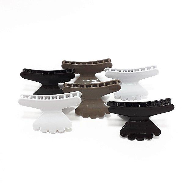 Piranha Sorriso De Plástico Para Cabelo 6 Unidades - Colorido