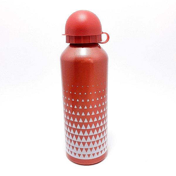 Squeeze De Alumínio Colorida Com Tampa - 500ml