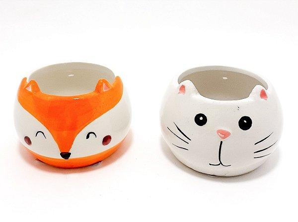 Vaso Pequeno De Cerâmica Decorativo - Temático