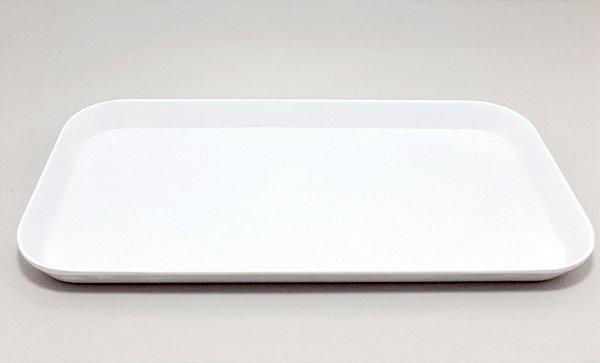 Bandeja Lisa De Plástico - Branca