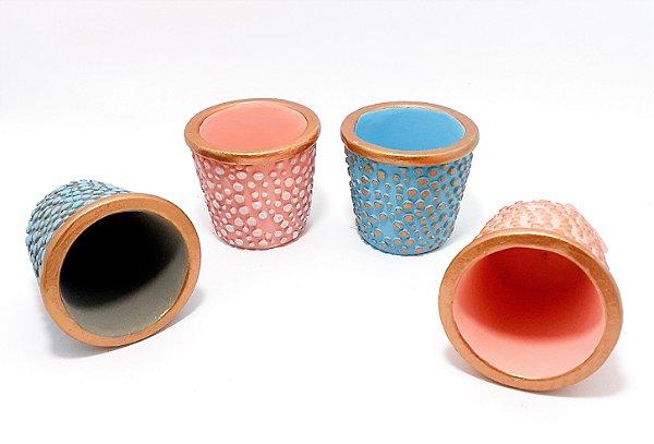 Vaso De Cerâmica Para Decoração - Colorido