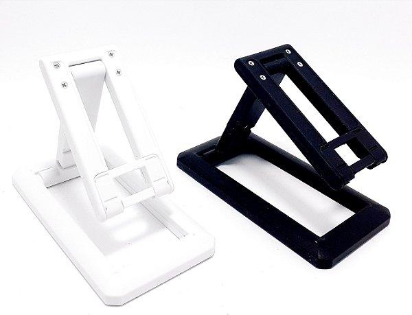 Suporte De Mesa Para Celular De Plástico - Colorido