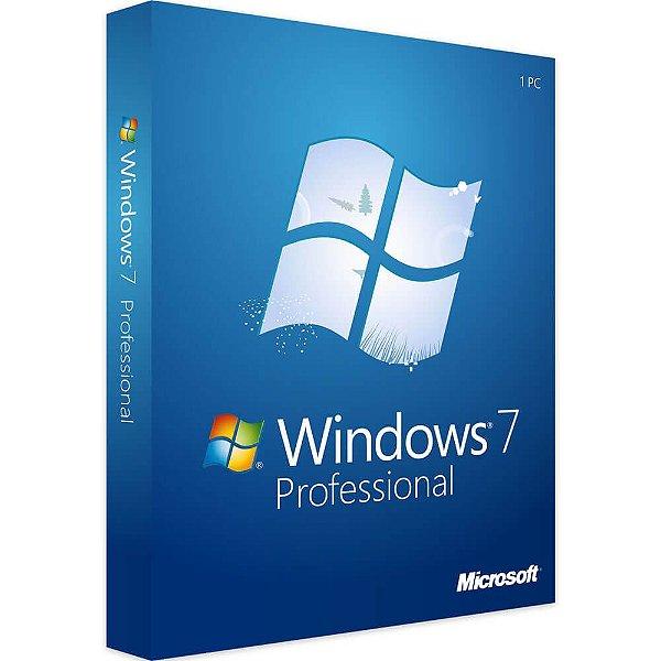 Microsoft Windows 7 Professional – 32 / 64 Bits – ESD