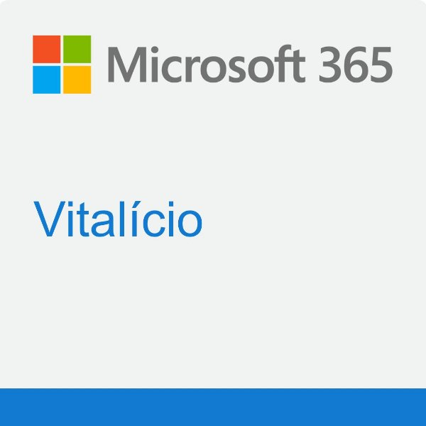Microsoft 365 Vitalício - 5 Licenças Pc ou Mac