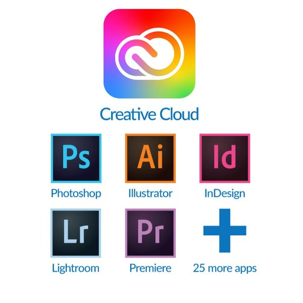 Adobe Creative Cloud 2021 Vitalício para Windows/MAC (Download)