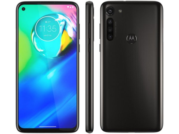 """Smartphone Motorola Moto G8 Power 64GB Preto - Titanium 4G 4GB RAM Tela 6,4"""" Câm. Quádrupla"""
