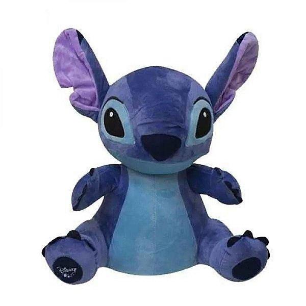 Pelucia Stitch Com Som 30cm Multikids BR806 Azul