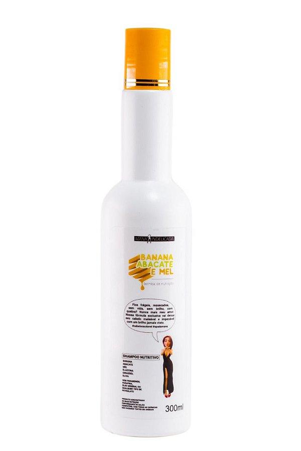 Shampoo Banana Abacate e Mel