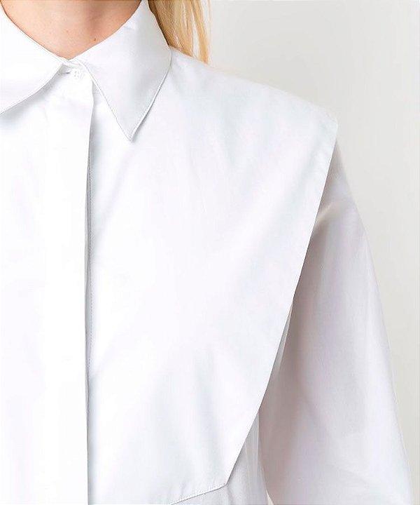 Camisa tricoline smoking