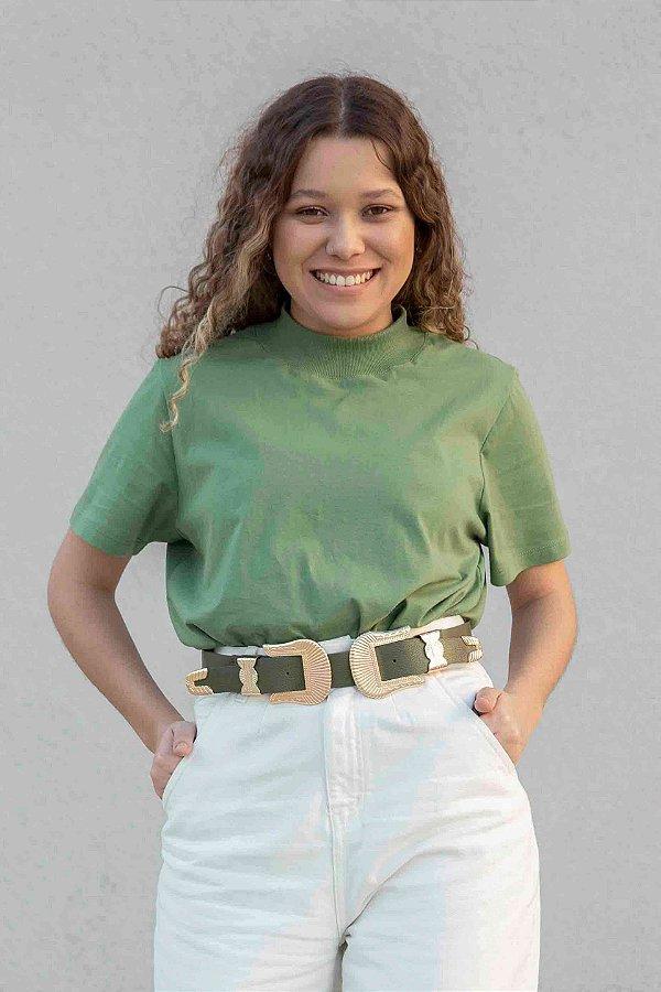 T-shirt essência verde