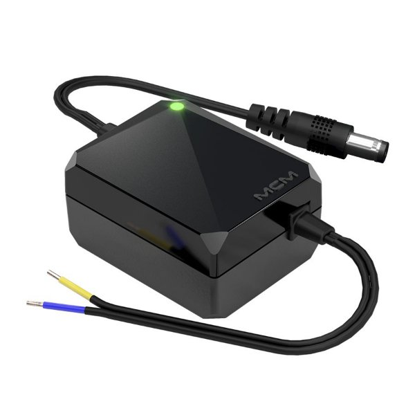 FONTE SMART METER CFTV 12,8V 0,5A (DESKTOP) MCM FON1278-RS-1 - MCM012 (Imagens ilustrativas)