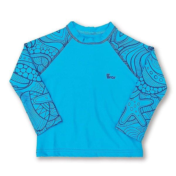 Ref:UV412B Camiseta Infantil Proteção UV 50+