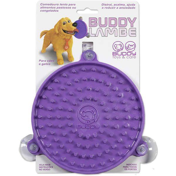 Comedouro Buddy Lambe para Cães e Gatos