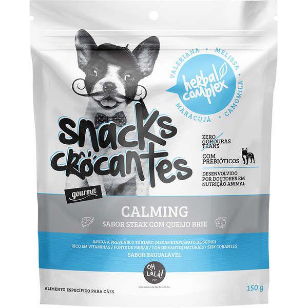 Snacks Crocantes OH LàLà! Pet Herbal Complex Calming - 150 g