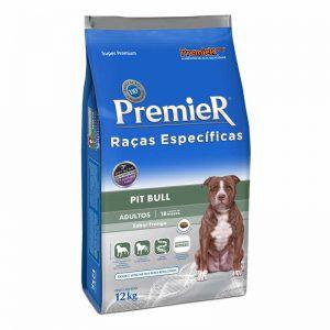 Ração Premier Pet Raças Específicas Pit Bull Adulto 12KG