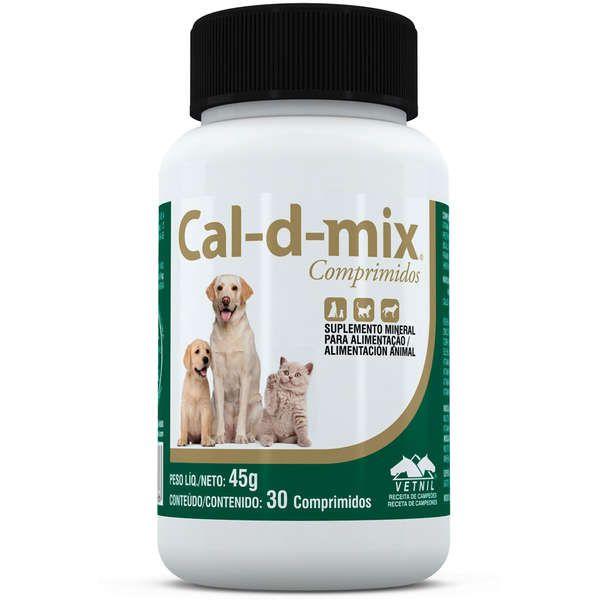 Suplemento Vetnil Cal-D-Mix para Cães e Gatos