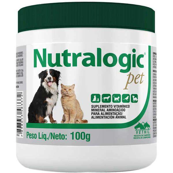 Suplemento Vetnil Nutralogic Pó - 100 g