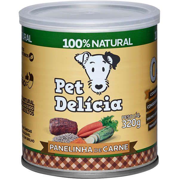 Ração Úmida Pet Delícia Natural Panelinha de Carne
