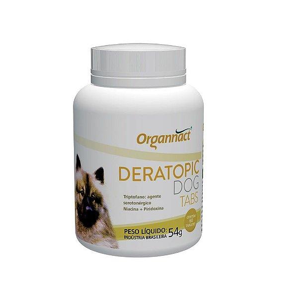 Suplemento Vitamínico Organnact Deratopic Tabs - 60 comprimidos