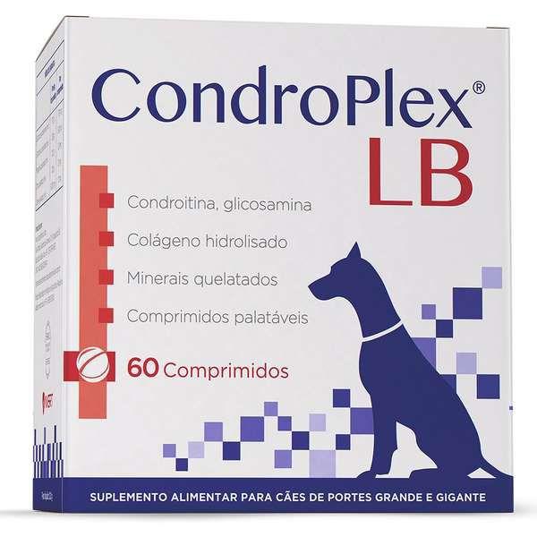 Suplemento Alimentar Avert Condroplex LB com 60 Comprimidos - 120 g