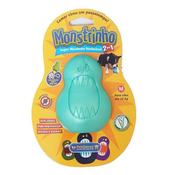 Brinquedo Mordedor Pet Games Monstrinho Cores Sortidas