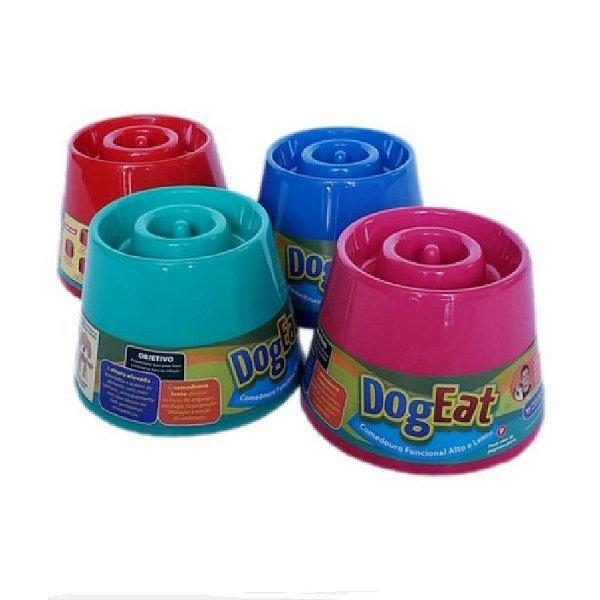 Comedouro Interativo Funcional alto e lento – Dog Eat (Raças Pequenas)