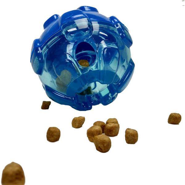 Brinquedo Interativo KONG Rewards Ball Bola Porta Petisco Azul
