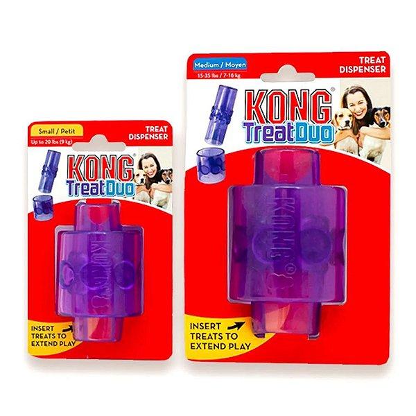 Brinquedo Interativo KONG  Treat Duo