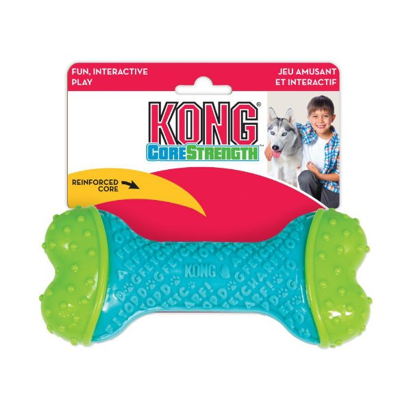 Brinquedo Cães Osso Kong Core Strenght Bone