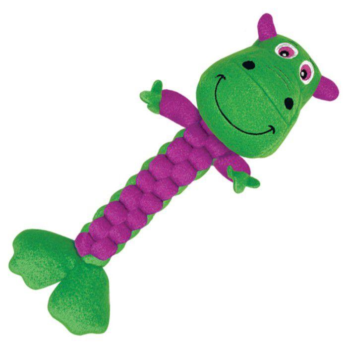 Brinquedo Kong - Pelúcia SAFARI BRAIDZ GREEN
