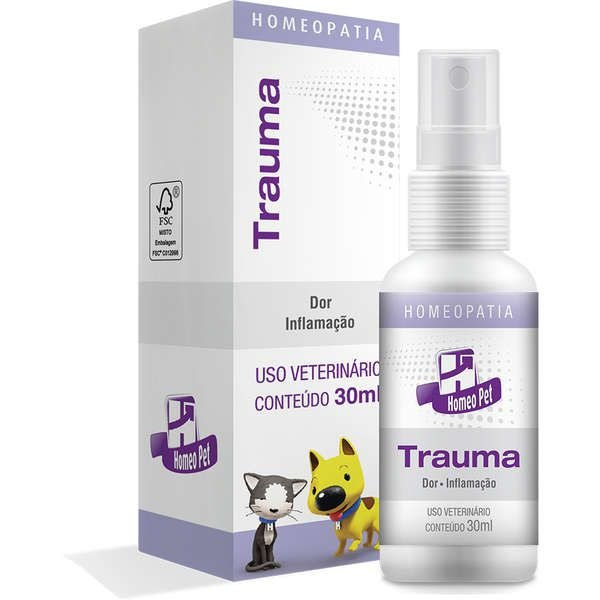Sistema de Terapia Real H Homeo Pet Trauma - 30 mL