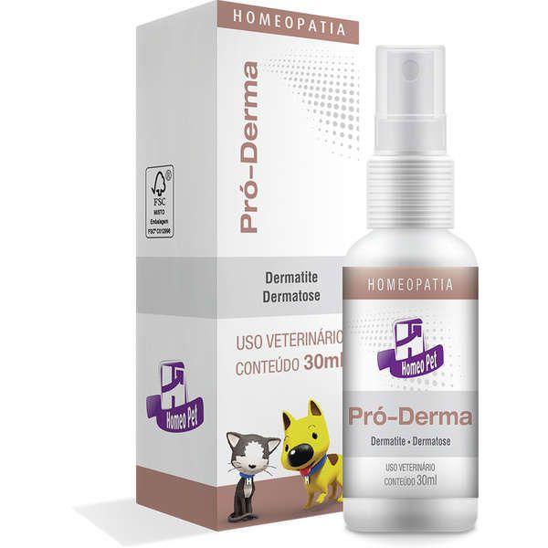 Sistema de Terapia Real H Homeo Pet Pró-Derma - 30 mL