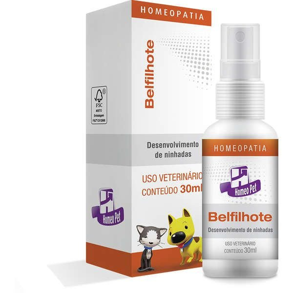 Sistema de Terapia Real H Homeo Pet Belfilhote Spray