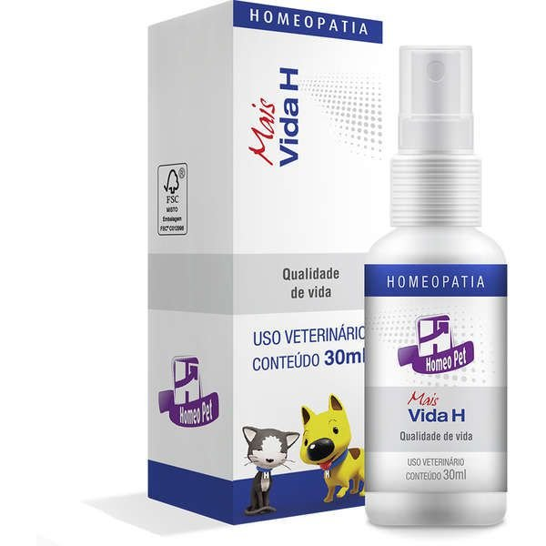 Sistema de Terapia Real H Homeo Pet Mais Vida H – 30 mL