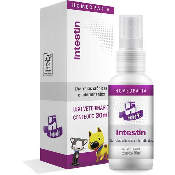 Sistema de Terapia Real H Homeo Pet Intestin - 30 mL