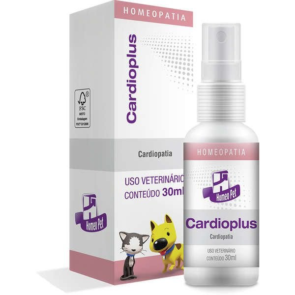 Sistema de Terapia Real H Homeo Pet Cardioplus - 30 mL