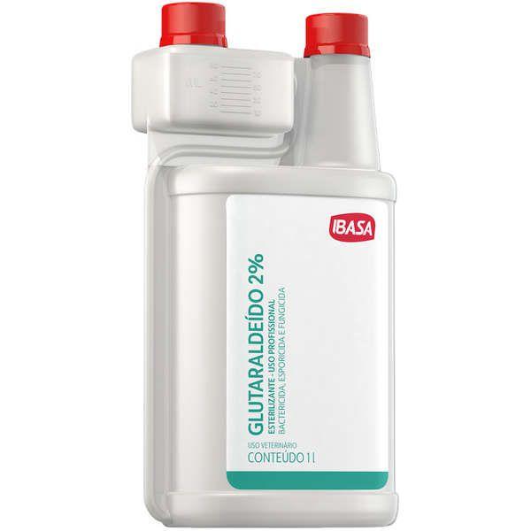 Desinfetante Ibasa Glutaraldeido 2% - 1 Litro