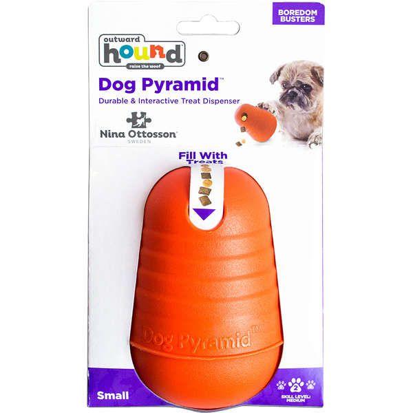 Brinquedo Outward Hound Pirâmide João Bobo Recheável Pequeno