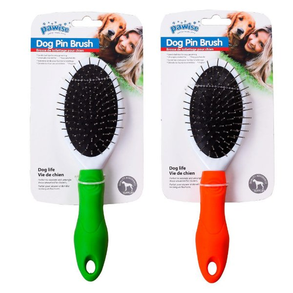 Escova Pawise Pin para Cães – Cores Sortidas