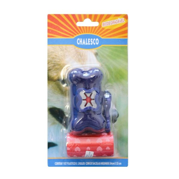 Kit Higiene Chalesco para Coleiras (cata caca) – Cores Sortidas