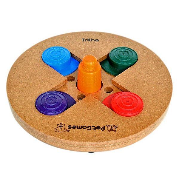 Brinquedo Tabuleiro Pet Games Jogo Interativo Trilha