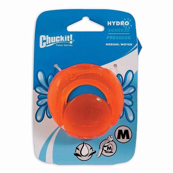 Brinquedo Bola Agua Cães Chuckit Hydrosqueeze - Tamanho M