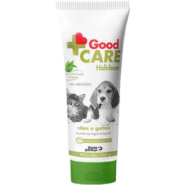 Gel Dental Mundo Animal Good Care Haliclean para Cães e Gatos 100g